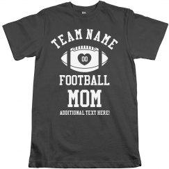 Customizable Football Mom Design
