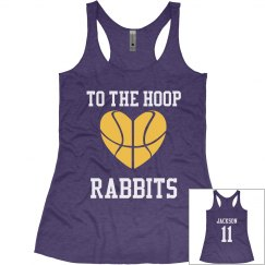 Girls Basketball Tank
