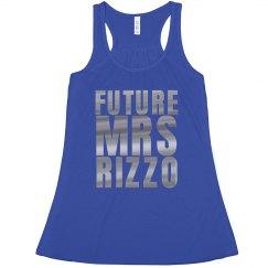 Future Mrs Rizzo Silver Metallic