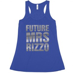 Future Mrs Rizzo Silver Metallic