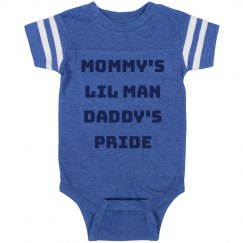Mommy's Lil Man Daddy's Pride