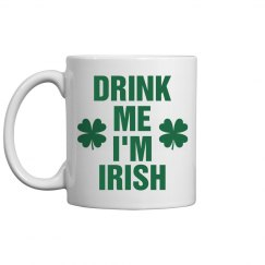 I'm Irish Coffee St Pattys Mug