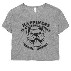 A Pitbulls Smile