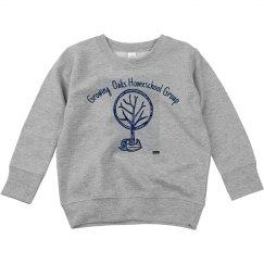 Toddler Sweatshirt Front acorn tree