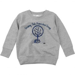 Toddler Sweatshirt Front acorn tree