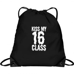 Kiss My 16 Class Seniors Bag