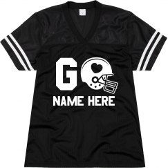 Custom Girlfriend Football Jersey