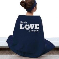 For The Love Of Soccer Blanket