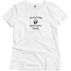 Keep Calm - Read Book grey