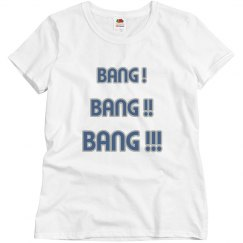 Bang bang bang  white/grey/blue