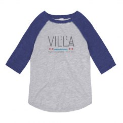 Youth Villa Chicago Skyline 3/4 Sleeve Vintage Tee