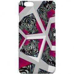 Abrica-Zebra Cubical Print Custom iPhone Case