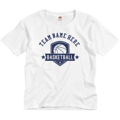 Tailor-Made Your Team Here Basketball T-Shirt