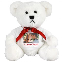 Cute Custom Photo Valentine's Bear Gift