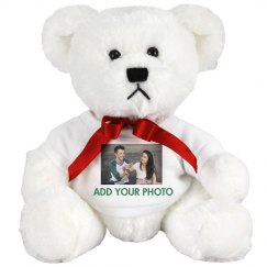 Photo Upload Custom Text Bear