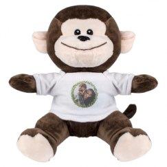 8 Inch Monkey Stuffed Animal