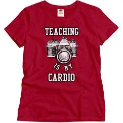 Teaching Photography is my Cardio