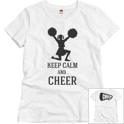 Keep calm and cheer