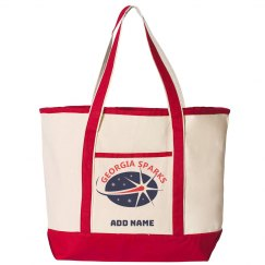 Georgia Sparks 34.6L Large Canvas Deluxe Tote