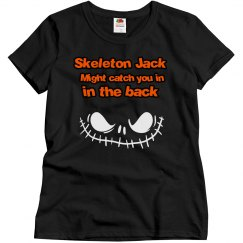 Skeleton Jack Women's T-Shirt