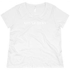 Konnichiwa Black Tee