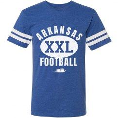 Arkansas xxl football shirt