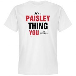 It's a paisley thing
