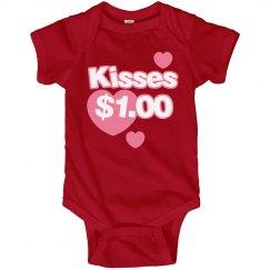 Kisses $1.00