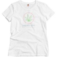 Girls Who Splift Leaf Tee