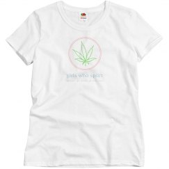 Girls Who Splift Leaf Tee