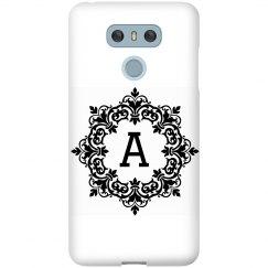 Personalised Inital LG Snap phone case