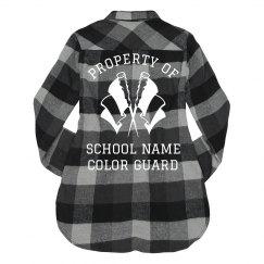 Property of School Guard Flannel