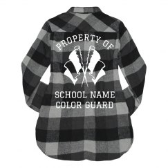 Property of School Guard Flannel
