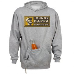 Johnny Dappa Trading Co. Horizontal Tag Logo Hoodie