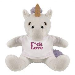 F*ck love unicorn