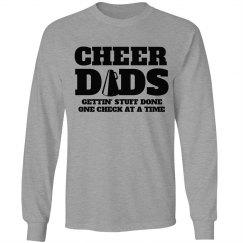 Funny Cheer Dad Cheer Fan Tees