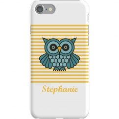 Custom Owl iPhone 5 Case