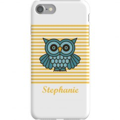 Custom Owl iPhone 5 Case