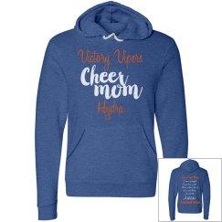 Cheer mom hooded sweatshirt