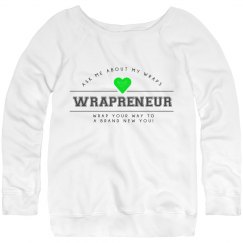 Wrapreneur Sweater