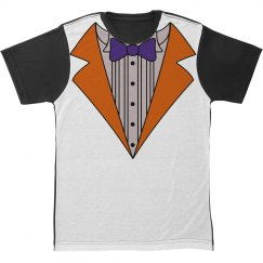 Orange Tuxedo