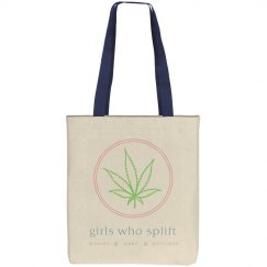 Girls Who Splift Leaf Tote