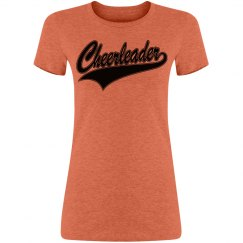 Cheerleader Throw Back Tee