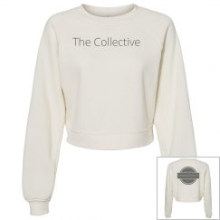 Logo crop sweatshirt