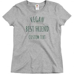 Custom My Vegan Best Friend