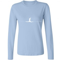 Splits - Relaxed Long Sleeve Tee (in Multiple Colors)
