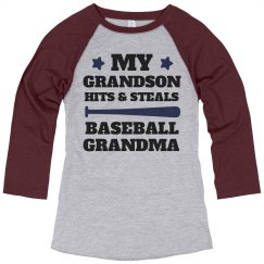 My Grandson Hit's And Steals