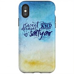 Sweet Dreams and Salty Air phone case