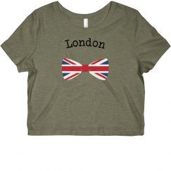 London Bow Crop Top