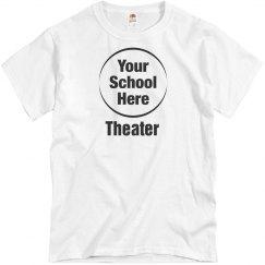 Budget School Logo Theater Tee